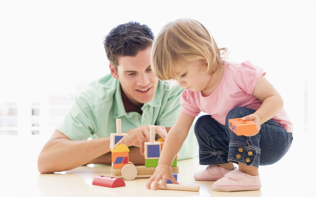 Father playing with daughter. Photo taken from https://www.talkplayandread.com/fathers-play-important-role-children/